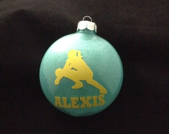 Personalized Volleyball  Player Christmas Ornament