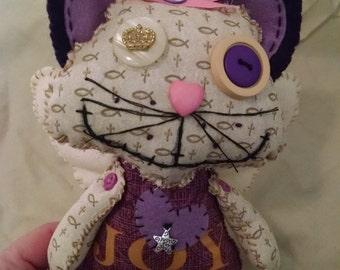 Happy Sunday! Just finished Katz Angel love stitched doll.