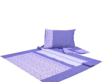 Marine Baby Pique Blanket Set