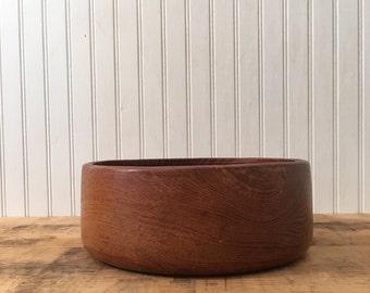 Wooden Salad or Serving Bowl large wooden bowl