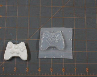 Video Game Controller Plastic Mold Silicone Mold Resin Mold, Soap Mold, polymer clay mold, game mold, controller mold, candle mold, xbox