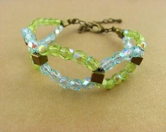Bracelet - blue/green