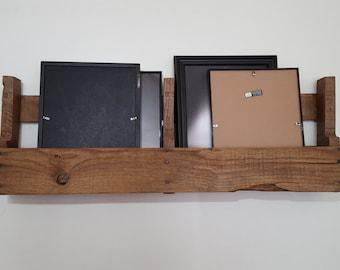 Pallet Wall Shelf - Reclaimed Wood - Rustic - Interior Wall Decor