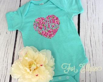 Hello Newborn baby girl bodysuit - one piece newborn