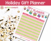 Holiday Gift Planner Prin...
