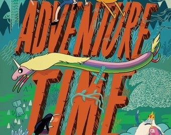 Adventure Time with Finn and Jake A1 Poster