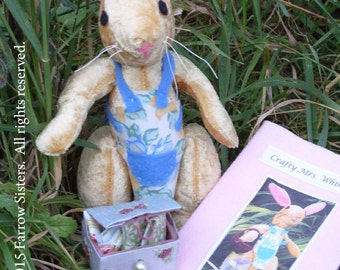 Collectible Soft Toy Kit, Riverbank Farm Kit No. 2, Mrs Whiskers