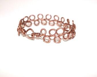 Copper Bangle/Wrist Piece