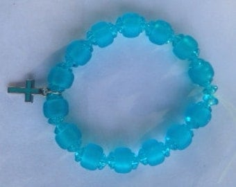 Bracelet with Cross Charm
