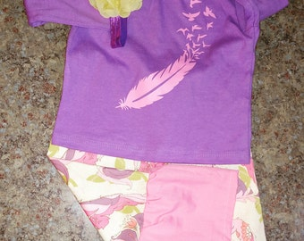 Feathers boutique outfit