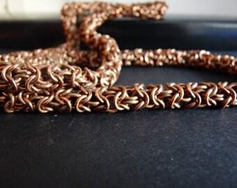 Copper Turkish Round Maille