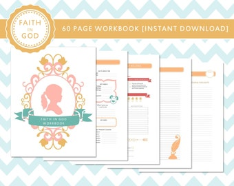 LDS Faith in God Workbook Printable Instant Download