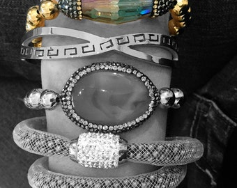Multicolor Crystal Stone Paradise Bracelet