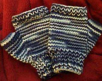 Fingerless Knitted Gloves