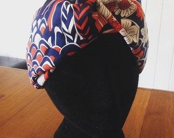 Vintage 70s turban headband