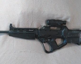 Halo DMR modified Nerf gun