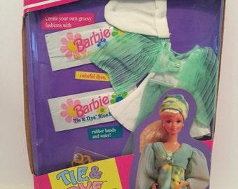 1993 Barbie Tie & Dye Fashions Kit #11280