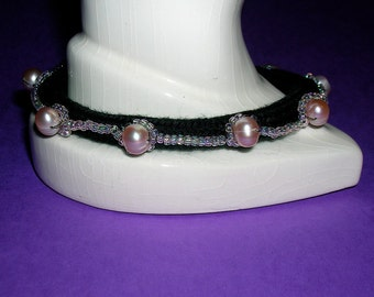 Simply Stated- Beaded soft  bracelet