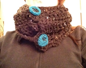 Retro touque and 3-way scarf