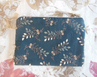 Cloth Zippered Bag Autumn