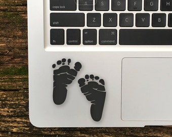 Baby Foot Prints Sticker, Baby Foot Decal, Baby Foot Prints Stickers, Baby Feet Decals, Baby Foot Prints Laptop Sticker, Baby Feet