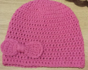 beenie hat can be made in any size and colour