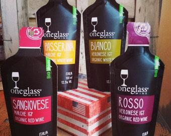 Oneglass organic wine box