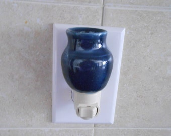 Blue Pottery Night light