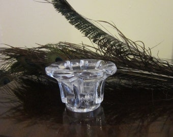 Tricket dish in glass for a special lady