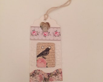 Gift tag For the Birds
