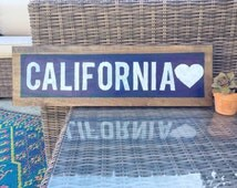 California Wood Sign Brandy Melville inspired