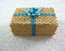 Gift box, decorative box, handmade quilled box, paper quilled box