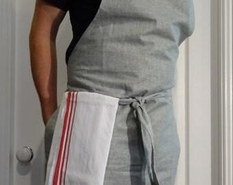 linen Kitchen/Cafe apron.
