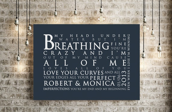 john legend all of me loves all of you inspired lyrics print