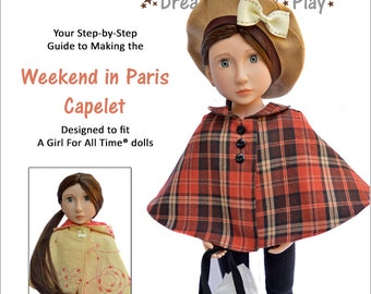 Capelet for 16 Inch A Girl For All Time Dolls - PDF