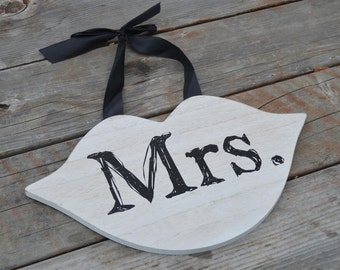 Mrs.Lips Chair or Wall Plaque