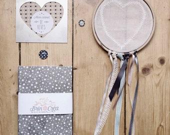Cute little notebook, handmade & refillable