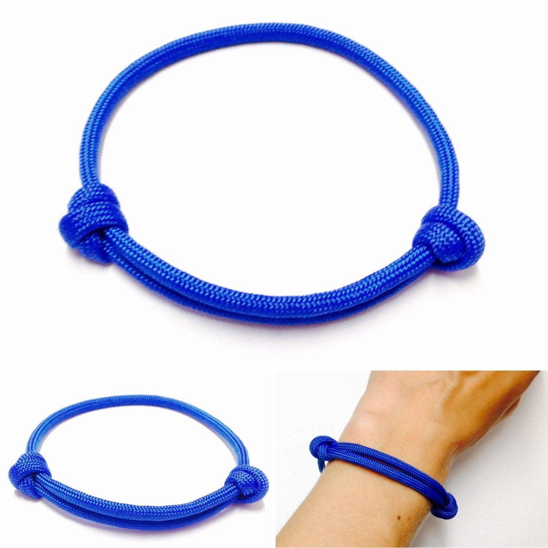 paracord bracelet nautical bracelet simple bracelet