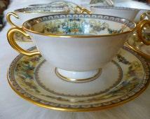 Lenox Christmas  - Lenox China - Sugar Bowl - Creamer - Lenox Dishware - China Set - China Plates - Dinnerware Set - Serving Tray