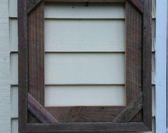 11x14 barnwood picture frames-very rustic