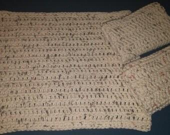 Oversized Crochet Dishcloths (set of 3) 100% cotton