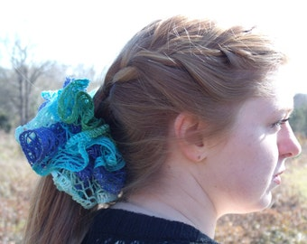 Ruffled Hair Scrunchie