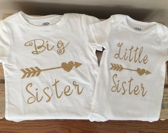 Big sister, little sister shirts