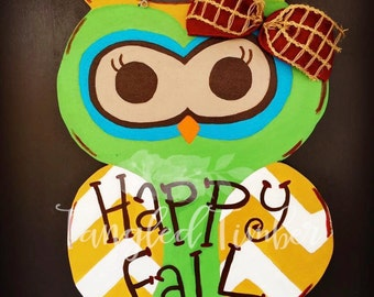 Happy Hootin' Fall