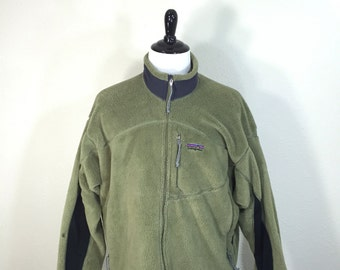 pavagonia full zip fleece jacket mens size XXL