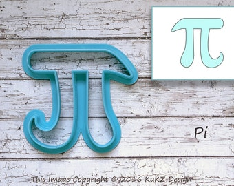 Pi symbol cookie cutter / Pi cookie cutter / Math symbols cookie cutter / Cookie cutter / fondant cutter