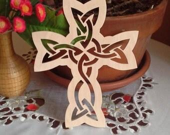 Wooden Celtic Cross