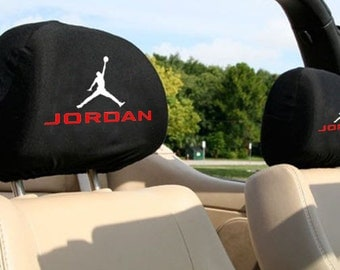 Air Jordan Auto SUV Head Rest Covers