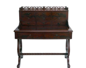 28% OFF Whole Store Antique European Writing Desk with Drawers and Pullout Top cs1029E