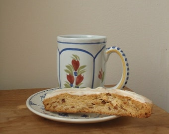 ALMOND BISCOTTI with VANILLA Coating